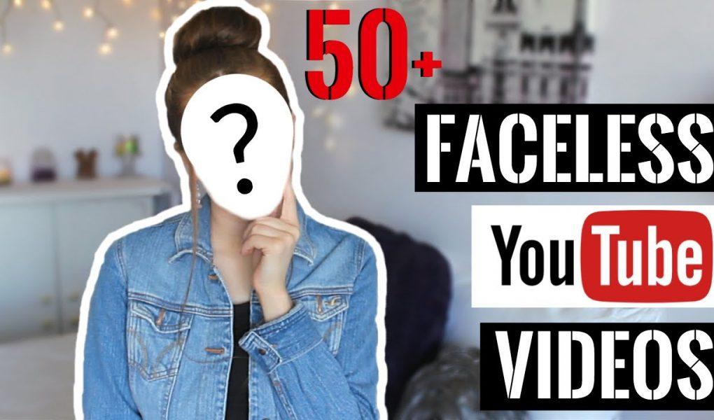 youtuber tanpa wajah