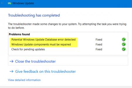 mengatasi masalah di Windows